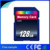 Cartão de alta velocidade do SD da câmara digital 128GB do OEM (classe 10)