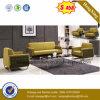 Sofá moderno del cuero de la sala de estar de los muebles populares 2017 en el sofá (HX-CS060)