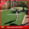 Erba sintetica artificiale per l'abbellimento del giardino