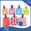 De Markering van de Bagage van het Embleem van pvc van de douane voor Toerist