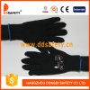 Ddsafety 2017 4 Garne schwärzen Baumwoll-oder Polyester-Handschuhe 7gauge