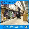Estante de armazenamento de metal industrial Sunnyrack Selective Warehouse