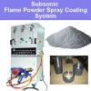 Sistema a spruzzo della polvere della fiamma per il trattamento di superficie del metallo che ripara la torcia di spruzzatura d'ottone della macchina di rivestimenti di ceramica dell'acciaio inossidabile del nichel