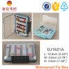 호리호리한 거품 방수 플라스틱 제물 낚시 상자