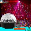 Illuminazione magica poco costosa di effetto della luce della fase della discoteca della sfera del DJ LED con il telecomando