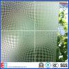 Motif 4-19mm Acid verre dépoli avec certificat CE