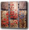 Peinture à l'huile des fleurs décoratives (53)