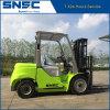 Forklift 3tons Diesel novo do lombo com o motor de Japão Mitsubishi