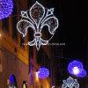 Outdoor Festive étoile à travers la rue LED Décoration Motif Lumières