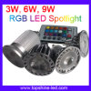 3W, 6W, 9W RGB LED Light