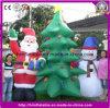 Decoración inflable gigante del muñeco de nieve de la Navidad para el partido de la decoración