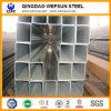 Tubo de acero cuadrado galvanizado sumergido caliente del buen surtidor de la fábrica de ERW
