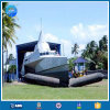 D=1.5m resistente L=15m 6layer Black Inflatable Float Airbag per Ship e Platform