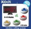 高品質の無線レストラン表の鐘ビルサービス
