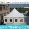 PVC de alumínio Canvas 8X8m Big Pagoda Tent de Frame White