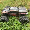 Brushless 4WD Controle Remoto 1/10 Scale Electric RC Car Model Black Body
