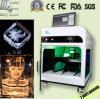 machine de gravure du laser 3D pour le cristal gravé