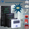 4 Zone Fire Alarm System mit Strobe Siren