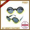 Lunettes de soleil rondes de la vente F6921 de mode de type chaud de femmes