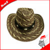 Sombrero unisex de la trenza de papel del vaquero de papel de la paja