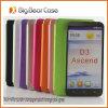 Caja del teléfono de cuero para Huawei D3