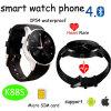 Le téléphone intelligent de montre de Bluetooth le plus neuf avec le moniteur du rythme cardiaque (K88S)