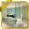 porte 12mm chaude en verre Tempered de salle de bains d'espace libre de qualité de vente de 4mm 5mm 6mm 8mm 10mm avec CE/CCC/ISO9001