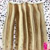 Pleine agrafe principale dans des prolongements de cheveux