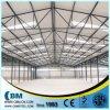 Hangares ligeros prefabricados de la estructura de acero de la certificación de la ISO y del CE