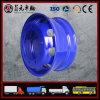 Schlauchlose Stahlrad-Felge, schwerer LKW-Stahlrad-Nabe, 22.5 x 9.00 22.5X8.25