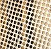 Декоративная плита для сетки пробивая отверстия