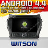 Witson Android 4.4 Car DVD para Hyundai IX45 2013 com A9 o Internet DVR Support da ROM WiFi 3G do chipset 1080P 8g