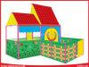 옥외 장난감은 아이를 위한 실행 천막을 각자 소집한다