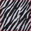 Tela não tecida da listra da zebra de Black&White (MY015)
