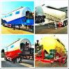 De Aanhangwagen van het cement, de aanhangwagen van de cementtank, 50m3 de BulkAanhangwagen van de Tanker van het Cement