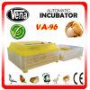 CE 2014 Approved Va-96 Egg Incubator à vendre