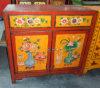 Античный китайский деревянный шкаф Lwb266 картины