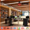 Ideabond ASTM証明さで人気のあるPEコーティングされた木製のアルミ複合パネル