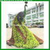 Jardin Decor Fake Grass Natural Green Sculpture de Peacock