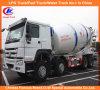 Cnhtc Sinotruk HOWO Concrete Mixer 10cbm 12cbmの重義務Mixer Truck