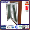 Tempered de aluminio Single Glass Window (5/6/8/10m m)