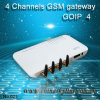 Entrada GoIP G/M VoIP del G/M VoIP del canal de la venda 4 del patio de la entrada de GoIP400 G/M