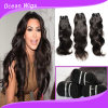 100%년 Human의 도매 Price 브라질 Virgin Remy Natural Wave Hair Extension