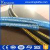 Blauer Deckel-Hochdruckunterlegscheibe-Schlauch-hydraulischer Gummischlauch