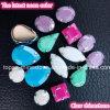 Bergkristal van de Klauw van het Bergkristal van de Toebehoren van juwelen naait het Acryl op Neon Acryl