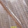 Cuoio di pattino artificiale materiale superiore dell'unità di elaborazione delle calzature metalliche luminose