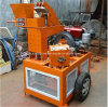 Mobile Hydroform Style Clay Soil Interlocking Construction Machine with Brick Making Machine Price