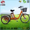 Buen regalo a más viejo con el triciclo eléctrico del cargo de la bicicleta de 3 ruedas