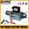 12 línea torno eléctrico de voltio 9500lbs del tirón con la cuerda de alambre