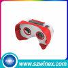 2015 nueva vidrios montados del vídeo de la realidad virtual 3D de Headmount del precio bajo pista plástica